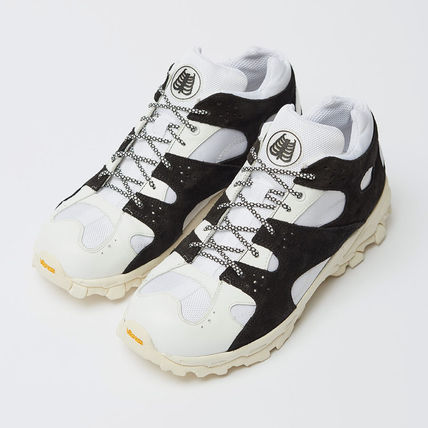 Suede Blended Fabrics Sneakers