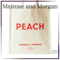 Melrose and Morgan Canvas A4 Plain Shoppers