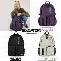 SCULPTOR Unisex Street Style Backpacks