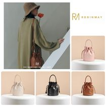 ROBINMAY Casual Style 2WAY Purses Bucket Bags