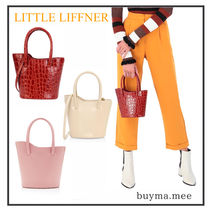 LITTLE LIFFNER Casual Style Plain Leather Office Style Elegant Style