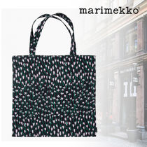 marimekko Flower Patterns Casual Style A4 Totes