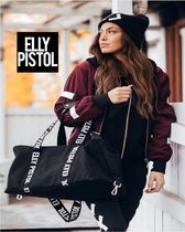 ELLY PISTOL Casual Style Street Style Shoulder Bags