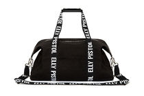 ELLY PISTOL Casual Style Street Style Logo Shoulder Bags