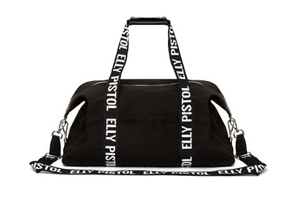 Logo Casual Style Street Style Shoulder Bags