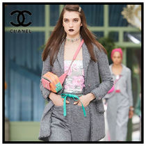 CHANEL Flower Patterns Party Style Elegant Style Shirts & Blouses
