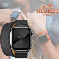 HERMES Casual Style Unisex Street Style Office Style