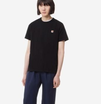 MAISON KITSUNE More T-Shirts U-Neck Plain Cotton Short Sleeves Logo Designers T-Shirts 5