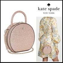 kate spade new york 2WAY Chain Plain Leather Crossbody Shoulder Bags