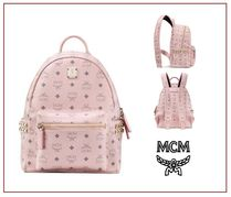 MCM Casual Style Office Style Backpacks