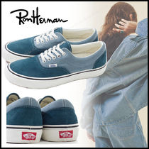 Ron Herman Casual Style Suede Street Style Plain Low-Top Sneakers