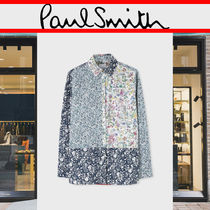 Paul Smith Flower Patterns Casual Style Long Sleeves Cotton Medium