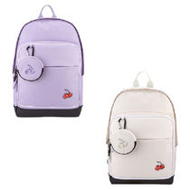 KIRSH Casual Style Street Style Collaboration A4 Plain Backpacks