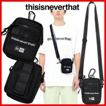 thisisneverthat Unisex Street Style Collaboration Shoulder Bags