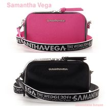 Samantha Thavasa Casual Style Faux Fur Plain Shoulder Bags