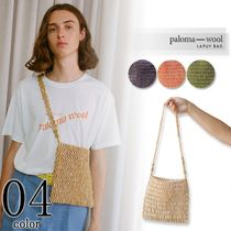 Paloma Wool Casual Style Plain Shoulder Bags