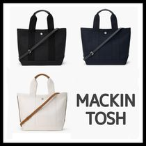MACKINTOSH Casual Style Canvas A4 2WAY Plain Totes