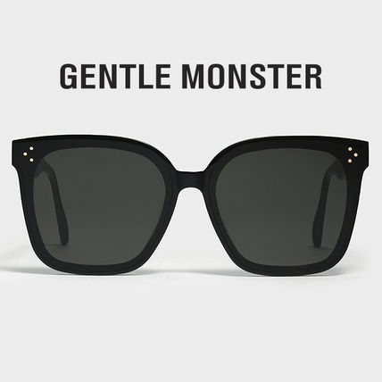 Unisex Square Oversized Sunglasses