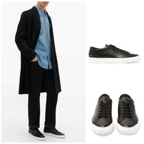 Common Projects Street Style Leather Sneakers