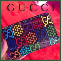 GUCCI Unisex Logo Coin Cases