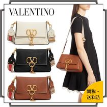 VALENTINO VRING Casual Style Blended Fabrics Tassel 2WAY Bi-color Chain