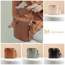 ROBINMAY Casual Style Plain Shoulder Bags