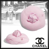 CHANEL Flower Party Style Elegant Style Party Jewelry