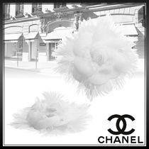CHANEL Flower Party Style Elegant Style Formal Style  Bridal