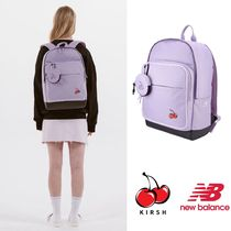 New Balance Casual Style A4 Plain Backpacks