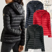 MONCLER Nylon Plain Medium Down Jackets