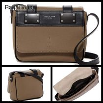 rag & bone Casual Style Unisex Suede Leather Shoulder Bags