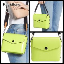 rag & bone Casual Style Leather Party Style Shoulder Bags