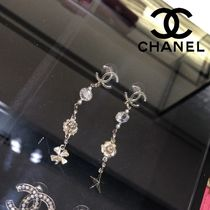 CHANEL Costume Jewelry Star Casual Style Animal Flower Street Style