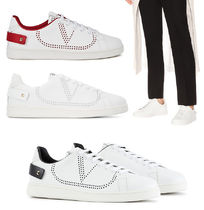 VALENTINO VLTN Unisex Leather Sneakers