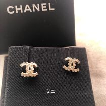 CHANEL Costume Jewelry Earrings