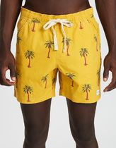 BANKS Printed Pants Tropical Patterns Cotton Shorts