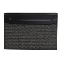 Bvlgari Leather Folding Wallet Card Holders