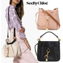 See by Chloe 2WAY Plain Leather Shoulder Bags