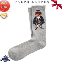 Ralph Lauren Nylon Plain Cotton Logo Undershirts & Socks