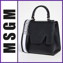 MSGM 2WAY Leather Shoulder Bags