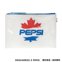 D SQUARED2 Casual Style Canvas Street Style Collaboration PVC Clothing
