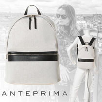 ANTEPRIMA Casual Style A4 Backpacks