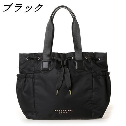 Casual Style Nylon A4 Totes