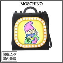 Moschino Casual Style Unisex Street Style 2WAY Party Style