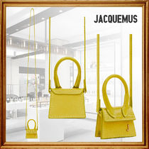 JACQUEMUS Casual Style Suede Leather Party Style Elegant Style