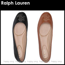 Ralph Lauren Casual Style Plain Office Style Elegant Style Flats