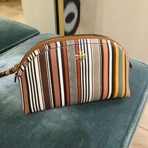 Tory Burch Stripes Pouches & Cosmetic Bags