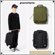 GROOVE RHYME Casual Style Unisex Street Style 3WAY Shoulder Bags