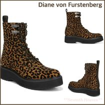 DIANE von FURSTENBERG Platform Other Animal Patterns Boots Boots