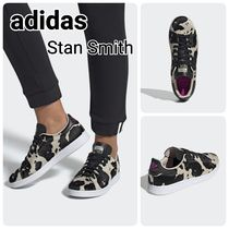 adidas STAN SMITH Unisex Street Style Other Animal Patterns Leather
